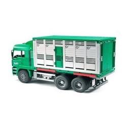 BRUDER- Camió transport de bestiar