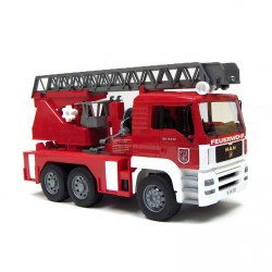 BRUDER Camión de bomberos con luz y sonido