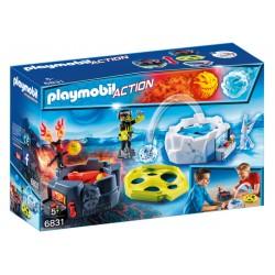 PLAYMOBIL-Zona de Combate con Robots