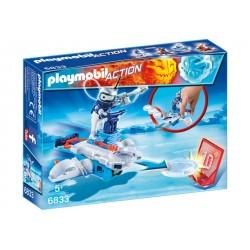PLAYMOBIL-Androide de Hielo con Lanzador