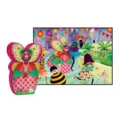 DJECO-P. Silueta La señorita mariposa