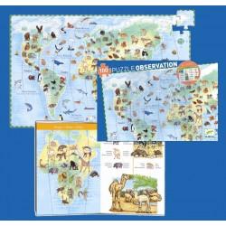 DJECO-P. Observación Los Animales del mundo