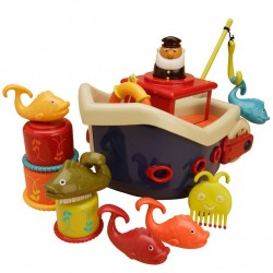 B. YOU-Fish & Splish - barco flotante