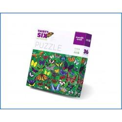 C.CREEK-300pc Puzzle Butterflies