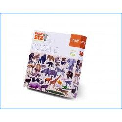 C.CREEK-300 pc Puzzle/Wild Animals