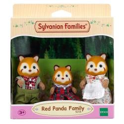 SYLVANIAN Familia Pandas Rojos