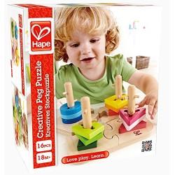 HAPE-Apilable puzzle infantil
