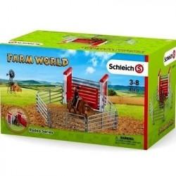 SCHLEICH-Monta de toros con vaquero