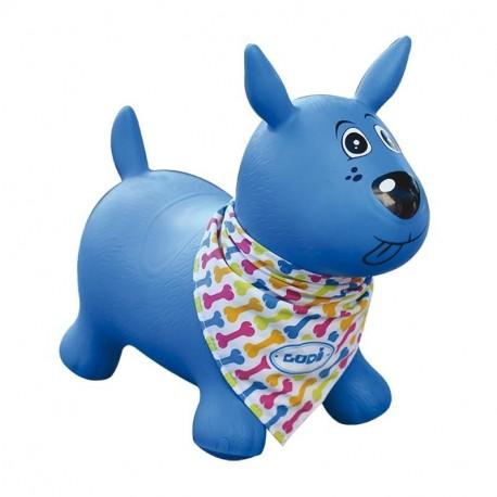LUDI-Mi perro saltarín azul
