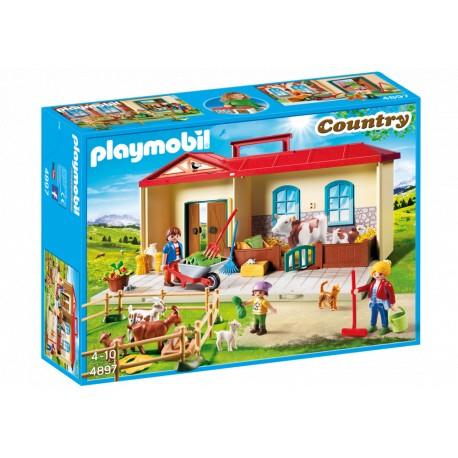 PLAYMOBIL-Granja Maletín