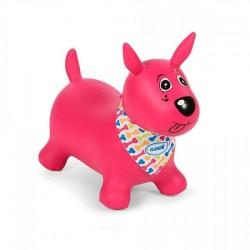 LUDI-Mi perro saltarín rosa