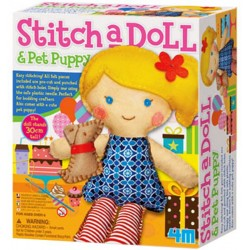 4M-Stich a Doll & Pet Puppy