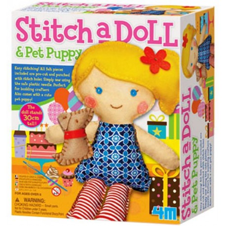 4M-Stich a Doll & Pet Puppy