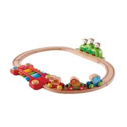 HAPE-Circuito de tren música y monos