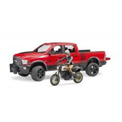 BRUDER-Pick-up con Moto Ducati