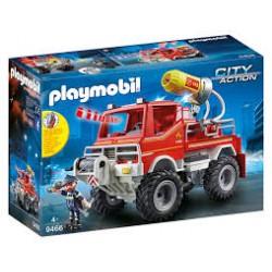 PLAYMOBIL-Todoterreno de Bomberos