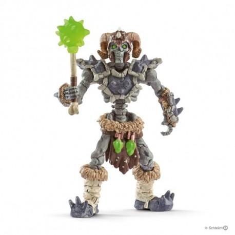 SCHLEICH Esqueleto de piedra con arma