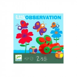 DJECO-Juego Little Observation