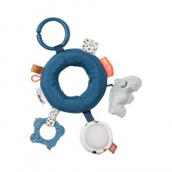 Done by Deer Anilla de actividades. Activity ring, blue