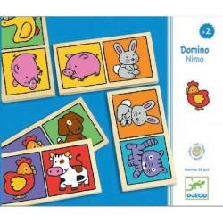 DJECO-Juego educativo Domino-nimo