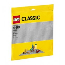 LEGO-CLASSIC Plancha gris lego