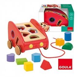 GOULA-Coche arrastre con piezas