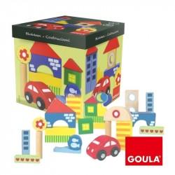 GOULA-Construcción de madera de 46 piezas Arquitectura