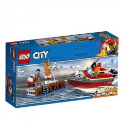 LEGO City Llamas en el Muelle