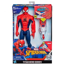 HASBRO-Avengers Spiderman power FX