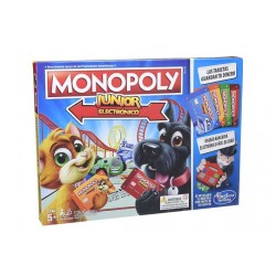HASBRO MONOPOLY JUNIOR ELECTRONICO