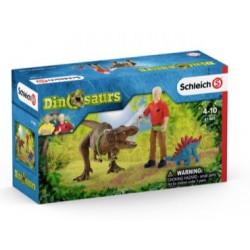 SCHLEICH-Ataque de Tyranosaurus Rex