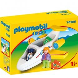 Playmobil  1.2.3 Avión con Pasajero