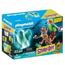 Playmobil SCOOBY-DOO! Scooby & Shaggy con Fantasma