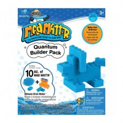 Mad Mattr Fabrica tus propios ladrillos color Azul (283 gr)