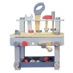 Ever Earth Banco de trabajo con herramientas y piezas