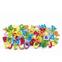 DJECO Magnéticos 83 Letras pequeñas