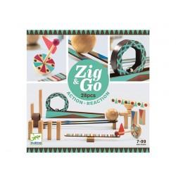 DJECO Construcción Zig & Go Roll 28