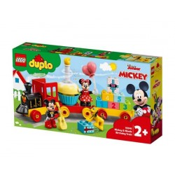 Lego  Duplo Tren de Cumpleaños de Mickey y Minnie
