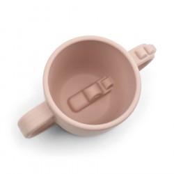 Done by Deer Peekaboo 2-handle cup Croco Powder