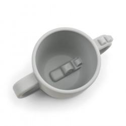 Done by Deer Peekaboo 2-handle cup Croco Grey